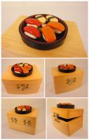 Sushi Trinket Box by Koreena