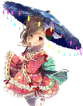 Bisque Doll Kimono by MusicalSushi