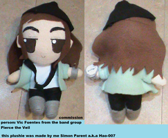 Vic Fuentes Plushie by Hao-007