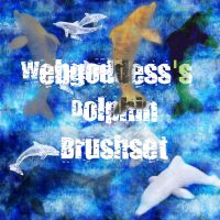 Dolphin Brushes by webgoddess