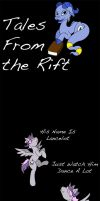 Tales From the Rift 1: DigiCurious by InfinitysDaughter
