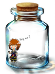 Sora: Help me ? (Bottle Meme) by KHStyler-chan
