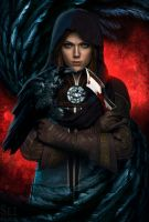 Though darkness closes,I am shielded by flame. by Songbird-cosplay