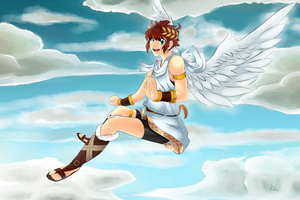 .:Kid Icarus~Pit:. by limo-the-cat