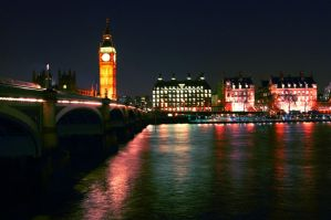 Westminster Bridge, London by AlanSmithers
