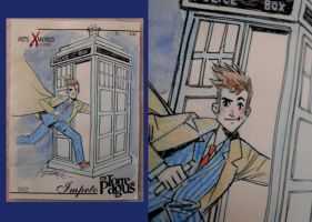 Comicsxafrica labels - Doctor Who by elena-casagrande