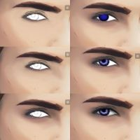 Eye work in 6 frames by Sixxxxx