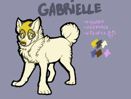 Fursona reference 2011 by gabdraws
