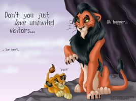 .scar+HATES+uninvited.guests. by shebacub