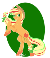 Rainbow Power - Applejack by FuyusFox
