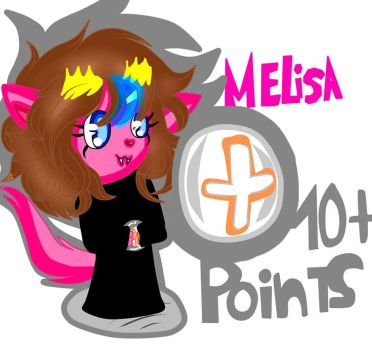 10 Points by MelisaFurry17