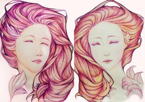 two Violet by WinLeAnh