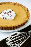 Butterscotch Pudding Tart by bittykate