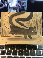 Cute Skunk by ChibiCelina