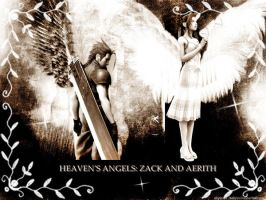 HEAVENS ANGELS: ZACK AND AERIS by finaldreams7