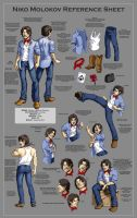 Niko Molokov Reference Sheet by manic-pixie