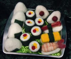 Sushi Assortment by Lobster-Ball