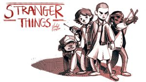 Stranger Things by Gwendolynn13