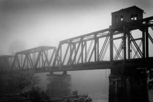 .fogged-in trestle 1. by elementalunacy