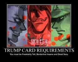 Hellsing Trumpcard Requirement by NicholeMarie419