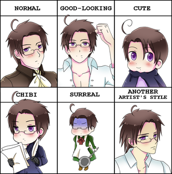 Style meme from Pixiv - Austria by simply-lau