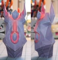 Draenei Totem Papercraft by Whuzzit