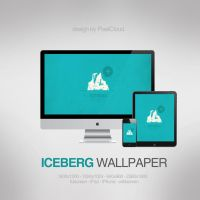 Iceberg Wallpaper by PixelCloud