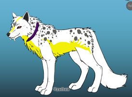 Sinestra as a wolf by Pythorisawesome