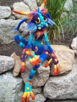 Blueberry Lagoon Goblin- by Tanglewood-Thicket