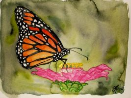 Butterfly - daily doodle by MalinPihl