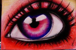 Eye of Red. by Darxen