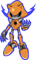 Metal Sonic Rotom by Advert-man
