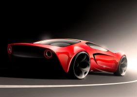 Sport coupe concept by Morfiuss