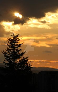End of March Sunset by 7DS7