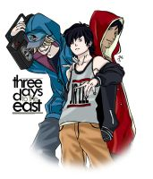 3 Days To the East by Jas656