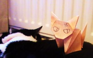 Origami Kyo by yes-its-yaz