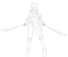 Wendi Sentai form WIP by R64-art