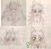 chibi doodle dump thing. by D-Mau5