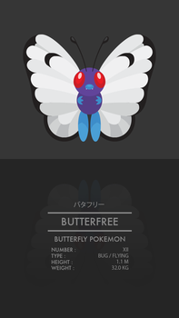 Butterfree by WEAPONIX