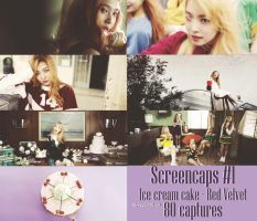 160315 Screencaps#1: Ice cream cake - Red Velvet by mis2019