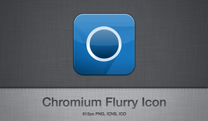 Chromium Flurry Icon by slapmefive