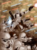 Storm Troopers Assault by LestamIzcaran