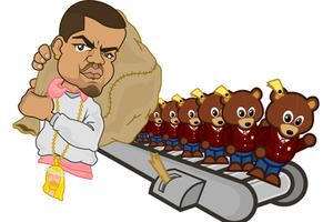 Kanye West's Bear-Factory by C-Shot