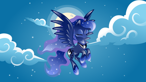 Wallpaper:Princess Luna by JENNYSHEVchENKO