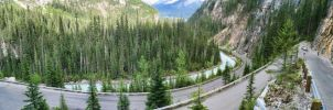 Switchback 4 Picture Panorama by Joe-Lynn-Design