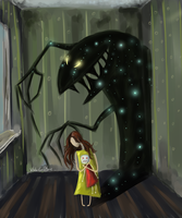 The fear by whitecrow-soul
