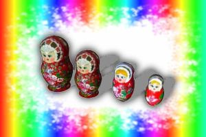 MMD Russian dolls DOWNLOAD by salutcoucou