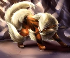 Arcanine by Cotton-Monster