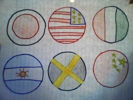 Flags by Twins429