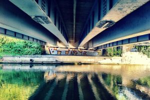 Art Under the Bridge by PaulAllenMorris
